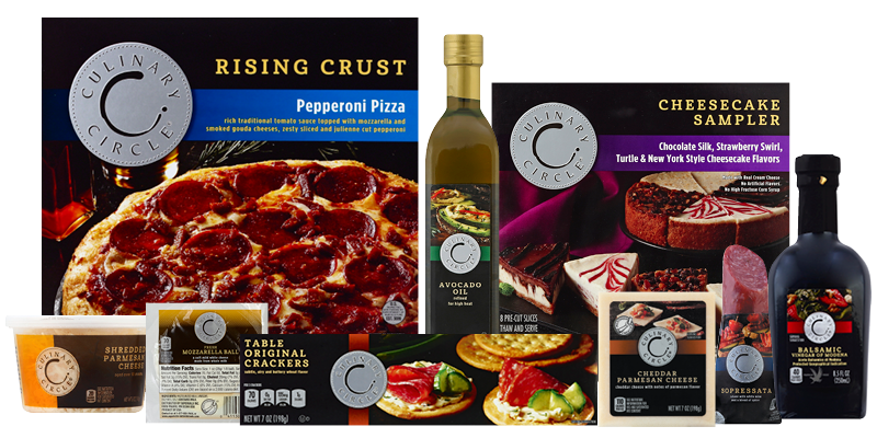 Culinary Circle Product Collage